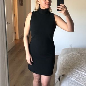 BB Dakota Black Turtleneck Dress